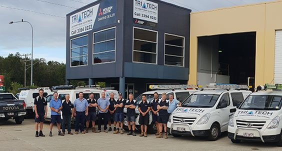 Tri-Tech Air Conditioning and Electrical Mobile Tech Team