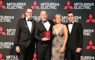 Tri-Tech Mitsubishi South East Queensland Dealer of the Year 2019