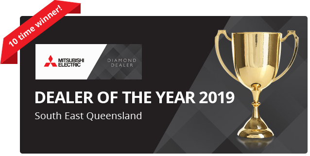 Brisbane air conditioning dealer award of the year for 2019