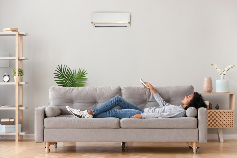 air conditioning installation for builders