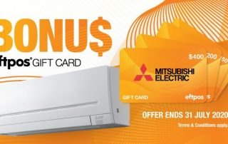mitsubishi electric promos