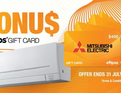 Choose Mitsubishi Electric air conditioning in Brisbane and SAVE!