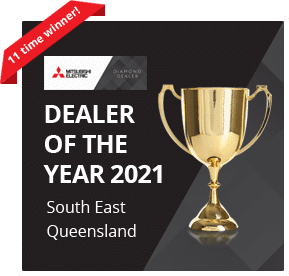 Dealer of the year 2021 South East Queensland